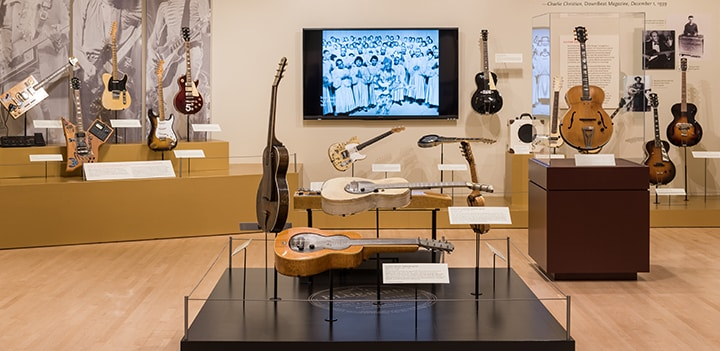 The Electric Guitar: Inventing an American Icon Exhibition