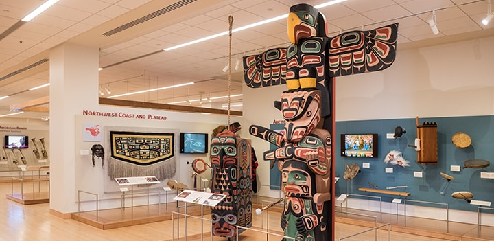 Northwest Coast and Plateau Exhibit Image