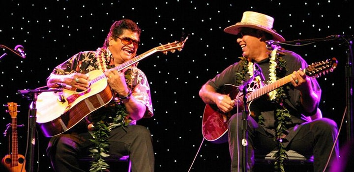 Led Kaapana and Mike Kaawa Image