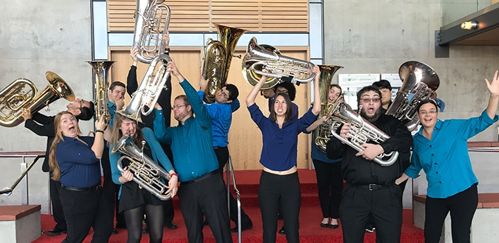 ASU Howl-low-ween! Featuring the ASU Trombone, Tuba, and Euphonium Studios Image