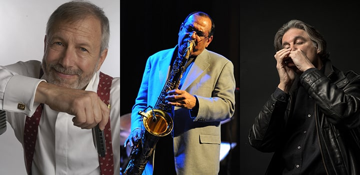 Corky Siegel, Ernie Watts, and Howard Levy Trio Image